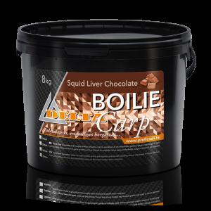 Squid Liver Chocolate - Tintahal, Máj, Csoki ízű Bojli