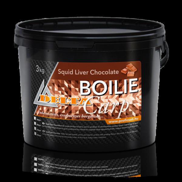 Csokoládé ízű Bojli